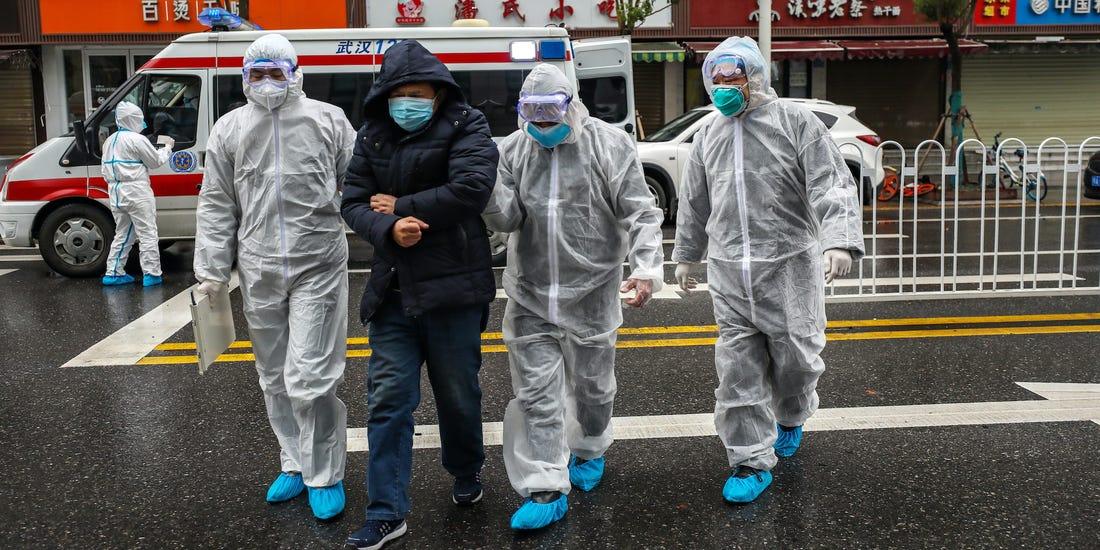 Распространение вируса в Китае и за его пределы