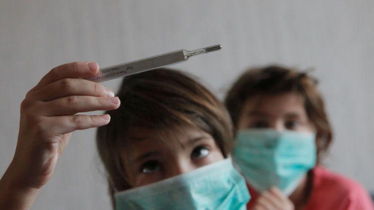 Опасность вируса для детей