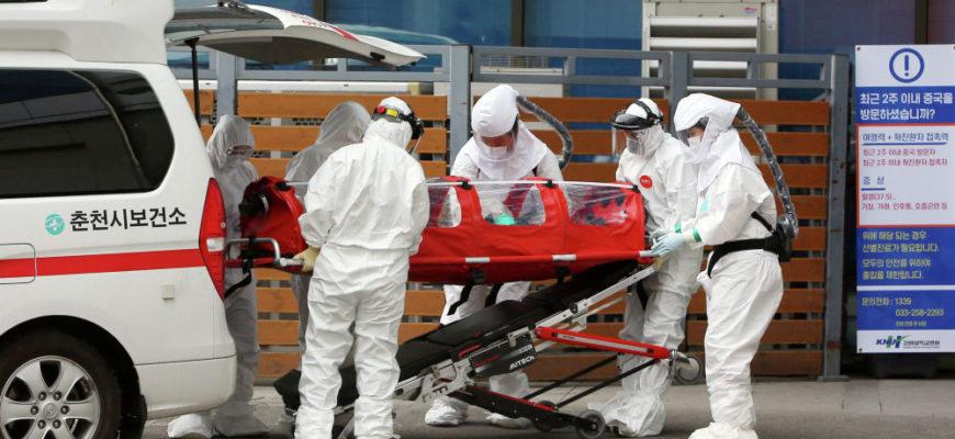 Как быстро распространяется коронавирус в Южной Корее